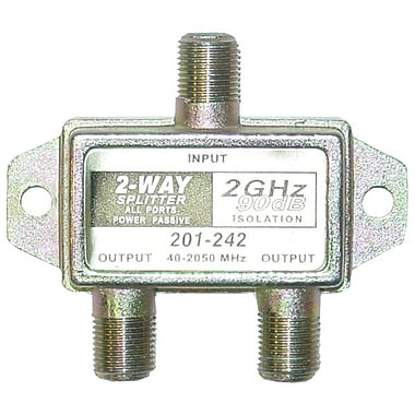 STEREN® 201-242 2 Way 2.4GHz Satellite Splitter