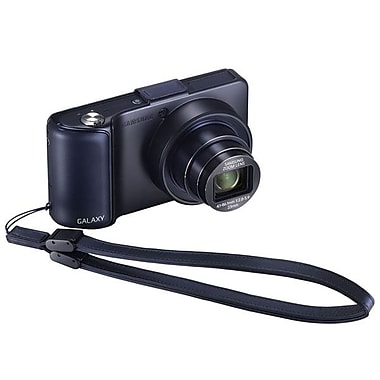 Samsung Flip Cover For Galaxy Camera With Wrist Strap, Black