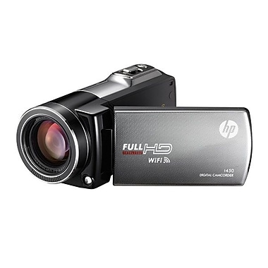 HP HD 1080p Digital Camcorder, 2.32in. x 4.76in. x 2.12in.