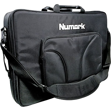 Numark Heavy-Duty Padded Canvas Controller Backpack Case, Black