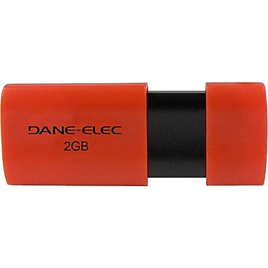 Dane-Elec DA-Z0 USB 2.0 Flash Drive, 2GB
