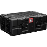 Pelican™ BLACKBOX-5U Double End Rackmount Case, Black