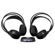 Pyle® PLVWH6 Dual Wireless Over-The-Ear Headphones With a Transmitter