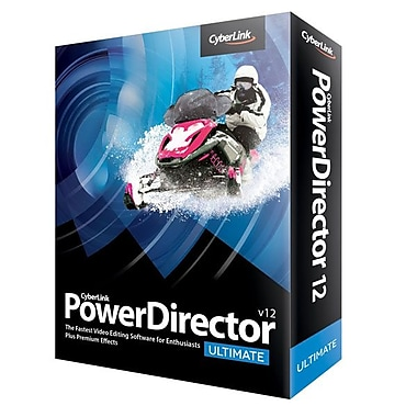 Cyberlink PDR-EC00-RPM0-00 PowerDirector V.12 Ultimate Software, 1 User