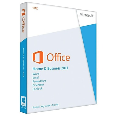 Microsoft® Office Home and Business 2013 Single User Licensing Software