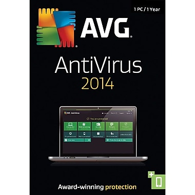 AVG® 1 Year AVG AntiVirus 2014, 1 User