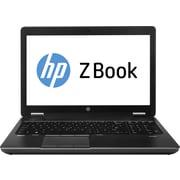 HP ZBook F2P85UT 15.6 LED Backlit LCD Intel i7 500 GB HDD, 4 GB, Windows 7 Professional 64-bit Laptop, Black/Gray