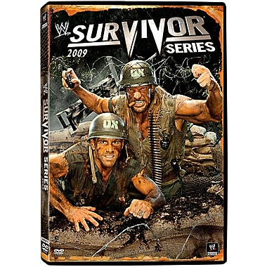 WWE 2009: Survivor Series 2009: Washington, DC: November 2 2, 2009 PPV (DVD)