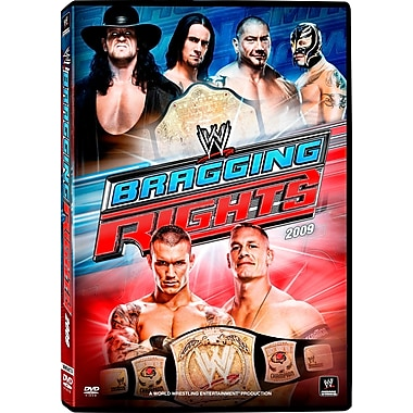 WWE 2009: Bragging Rights: Pittsburgh, PA: October25,2009 (DVD)