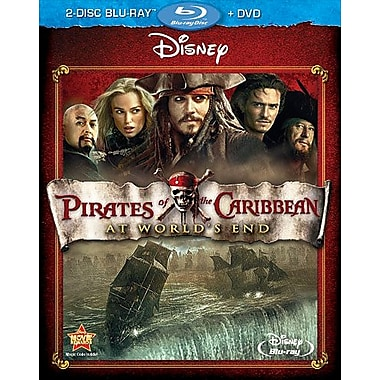 Pirates of The Caribbean: At World's End (Blu-Ray + DVD)