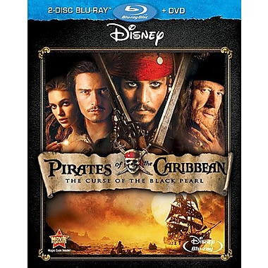 Pirates of The Caribbean: The Curse of The Black Pearl (Blu-Ray + DVD) 2011
