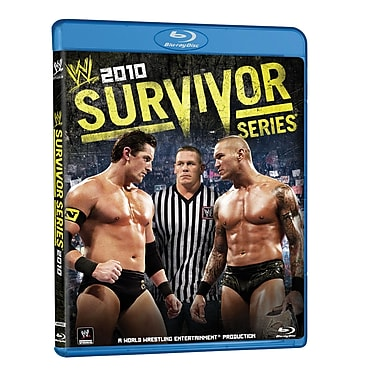 WWE 2010: Survivor Series 2010: Miami, FL: November 21, 2010 PPV (Blu-Ray)