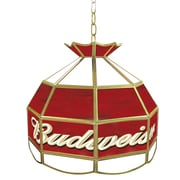 "Trademark Global® 16"" Tiffany Lamp Lighting Fixture, Budweiser®"