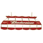 "Trademark Global® 40"" Stained Glass Pool Table Light, Budweiser®"