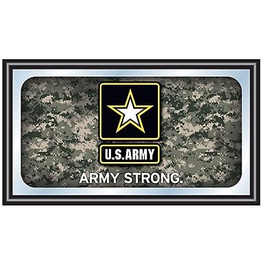 U.S. Army Digital Camo Framed Logo Mirror