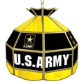 Trademark Global® 16in. Tiffany Lamp, U.S. Army