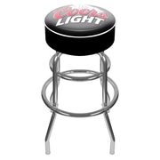 Trademark 30 Padded Swivel Bar Stool, Coors Light