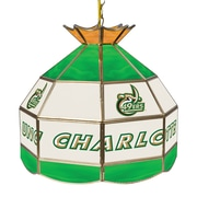 "Trademark Global® 16"" Stained Glass Tiffany Lamp, North Carolina Charlotte NCAA"
