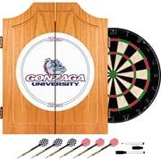 Trademark Global® Solid Pine Dart Cabinet Set, NCAA Gonzaga University