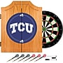Trademark Global® Solid Pine Dart Cabinet Set, NCAA