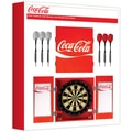 Trademark Global® Solid Pine Dart Cabinet Set, Coco-Cola®