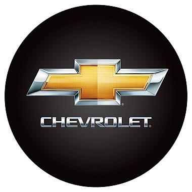 Trademark Global® Vinyl Padded Swivel Bar Stool, Black, Chevy