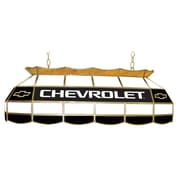 "Trademark Global® 40"" Chevy Bowtie Stained Glass Lighting Fixture, Chevrolet"