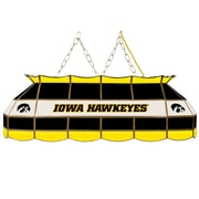 "Trademark Global® 40"" Stained Glass Tiffany Lamp, University of Iowa® NCAA"