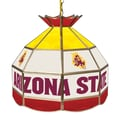 Trademark Global® 16in. Stained Glass Tiffany Lamp, Arizona State® University NCAA