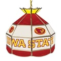 Trademark Global® 16in. Stained Glass Tiffany Lamp, Iowa State University NCAA