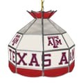Trademark Global® 16in. Stained Glass Tiffany Lamp, Texas A&M University NCAA