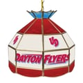 Trademark Global® 16in. Stained Glass Tiffany Lamp, University of Dayton NCAA
