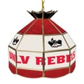 Trademark Global® 16in. Stained Glass Tiffany Lamp, UNLV™ NCAA