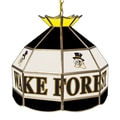 Trademark Global® 16in. Stained Glass Tiffany Lamp, Wake Forest University NCAA