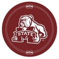 Trademark Global® NCAA® 28in. Solid Wood/Chrome Pub Table, Brown, Mississippi State University