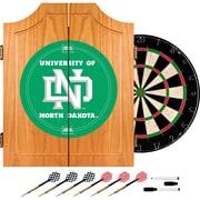 Trademark Global® Solid Pine Dart Cabinet Set, NCAA University of North Dakota