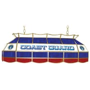 "Trademark Global® 40"" Stained Glass Lighting Fixture, U.S. Coast Guard"