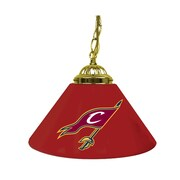 "Trademark Global® 14"" Single Shade Bar Lamp, Red, Cleveland Cavaliers NBA"