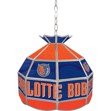 Trademark Global® 16in. Tiffany Lamp, Charlotte Bobcats NBA