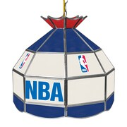 "Trademark Global® 16"" Tiffany Lamp, NBA Logo With All Teams"
