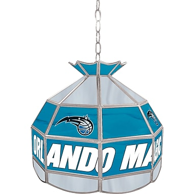 Trademark Global® 16in. Tiffany Lamp, Orlando Magic NBA
