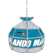 "Trademark Global® 16"" Tiffany Lamp, Orlando Magic NBA"