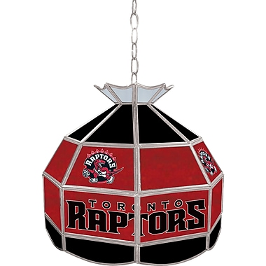 Trademark Global® 16in. Tiffany Lamp, Toronto Raptors NBA