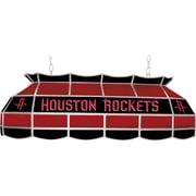 "Trademark Global® 40"" Tiffany Lamp, Houston Rockets NBA, Black/Red"