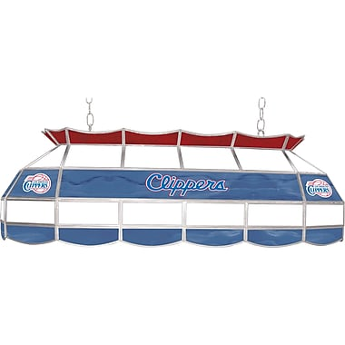 Trademark Global® 40in. Tiffany Lamp, Los Angeles Clippers NBA