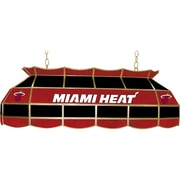 "Trademark Global® 40"" Tiffany Lamp, Miami Heat NBA"