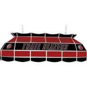 "Trademark Global® 40"" Tiffany Lamp, Portland Trail Blazers NBA, Black/Red"