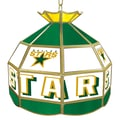 Trademark Global® 16in. Stained Glass Tiffany Lamp, NHL Dallas Stars