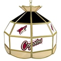 Trademark Global® 16in. Stained Glass Tiffany Lamp, NHL Phoenix Coyotes