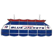 Trademark Global® 40 Stained Glass Lighting Fixture, NHL Columbus Blue Jackets